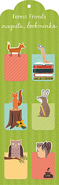Forest Friends Magnetic Bookmarks
