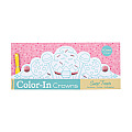 Sweet Treats Color-In Crowns [With Ribbon]