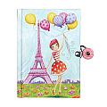 J 'Adore Paris! Locked Diary