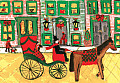 Horse and Carriage Notecards