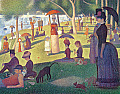 Seurat: A Sunday on La Grande Jatte - 1884 Notecards [With 17 Colored Envelopes]