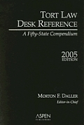 Tort Law Desk Ref 2005 Ed