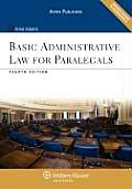 Basic Administrative Law for Paralegals Fourth Edition