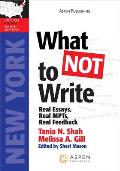 What Not to Write: Real Essays, Real Scores, Real Feedback (Massachusetts)