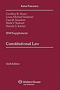 Constitutional Law-2010 Supplement (10 - Old Edition)