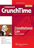Crunchtime: Constitutional Law (Audio CD)