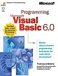 Programming Microsoft Visual Basic 6.0 with CDROM (Programming) Cover