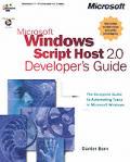 Microsoft Windows Script Host 2.0 Developer's Guide with CDROM