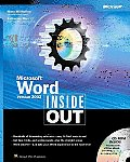 Microsoft Word Version 2002 Inside Out with CDROM (Inside Out)