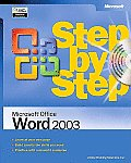 Microsoft Office Word 2003 Step by Step with Journal (Step by Step) Cover
