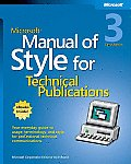 Microsoft Manual of Style for Technical Pub 3RD Edition
