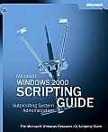 Microsoft Windows 2000 Scripting Guide with CDROM Cover