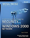 McSa/MCSE Self-Paced Training Kit: Implementing and Administering Security in a with CDROM (Pro-Certification) Cover