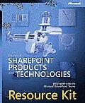 Microsoft SharePoint Products & Technologies Resource Kit