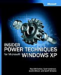 Insider Power Techniques for Microsoft Windows XP
