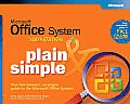 Microsoft Office System 2003 Edition Plain & Simple