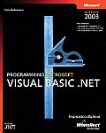 Programming Microsoft Visual Basic .Net Version 2003 with CDROM Cover