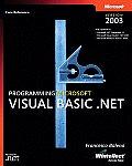 Programming Microsoft Visual Basic .NET Version 2003