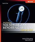 Microsoft SQL Server 2000 Reporting Services Step by Step (Pro-Step by Step Developer)