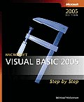Microsoft Visual Basic 2005 Step by Step with CDROM (Step by Step) Cover
