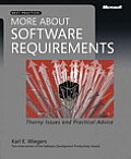 More about Software Requirements Thorny Issues & Practical Advice