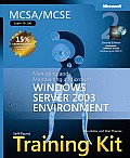 MCSA MCSE Self Paced Training Kit Exam 70 290 Managing & Maintaining a Microsoft Windows Server 2003 Environment With 2 CDROMs