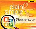 Microsoft Office PowerPoint 2007 Plain & Simple