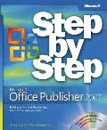 Microsoft Office Publisher 2007 Step by Step [With CDROM]