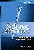 Microsoft Exchange Server 2007 Administrators Pocket Consultant