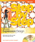 Microsoft Expression Design Step by Step Cover