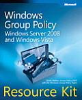 Windows Group Policy Resource Kit Windows Server 2008 & Windows Vista With CDROM