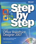 Microsoft Office Sharepoint Designer 2007 Step by Step Cover