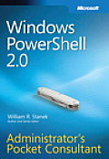Windows Powershell(tm) 2.0 Administrator's Pocket Consultant