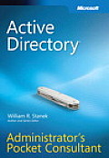 Active Directory(r) Administrator's Pocket Consultant