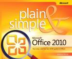 Microsoft Office 2010 Plain & Simple Cover