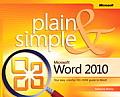 Microsoft Word 2010 Plain & Simple (Plain & Simple)