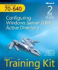 McTs Self-Paced Training Kit (Exam 70-640): Configuring Windows Server 2008 Active Directory Cover