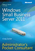 Windows® Small Business Server 2011 Administrator's Pocket Consultant
