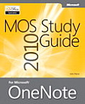 Mos 2010 Study Guide for Microsoft Onenote