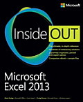 Microsoft Excel 2013; inside out