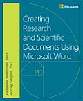 Creating Research & Scientific Documents Using Microsoft Word