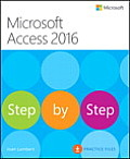 Microsoft Access 2016 Step by Step (Step by Step)