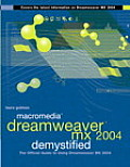 Macromedia Dreamweaver MX 2004 Demystified