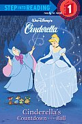 Cinderella's Countdown To the Ball (Step Into Reading: a Step 1 Book) Cover