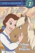 Pony For A Princess Step Into Reading
