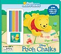 Pooh Chalks with Other (Pooh Adorables)