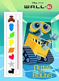 Nuts & Bolts With Paint Brush & Paint Box