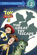 Toy Story 3: The Great Toy Escape (Step Into Reading - Level 2 - Quality) Cover