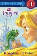 Tangled Kingdom of Color Step into Reading Level 1