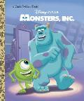 Monsters, Inc. Little Golden Book (Disney/Pixar Monsters, Inc.) (Little Golden Book)